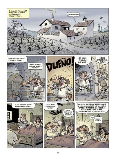 Page 9 La véritable histoire vraie tome 3