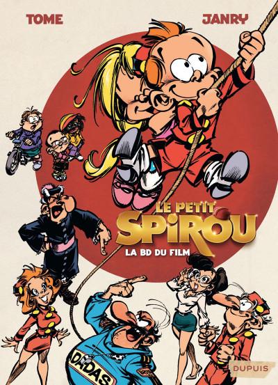 Couverture Le petit Spirou - La BD du film