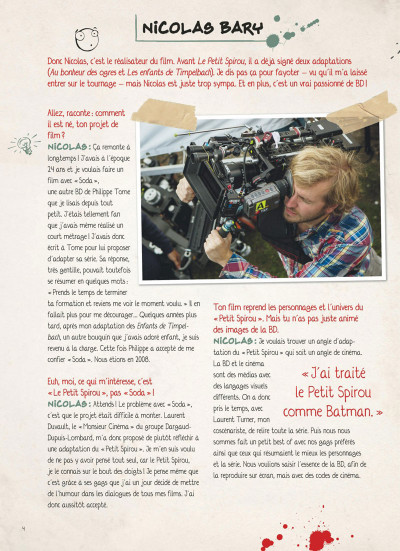 Page 3 Le petit Spirou - La BD du film