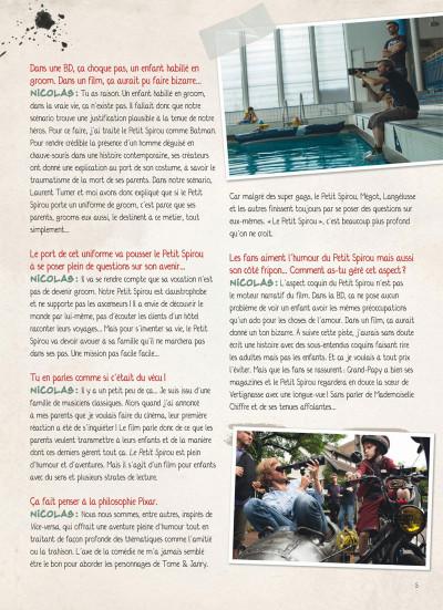 Page 4 Le petit Spirou - La BD du film