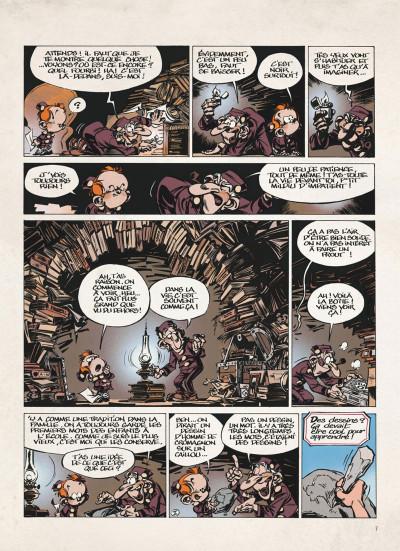 Page 7 Le petit Spirou - La BD du film