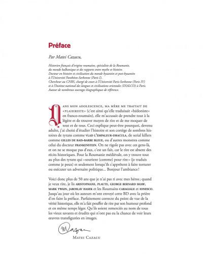 Page 2 Les méchants de l'histoire tome 1 - Dracula