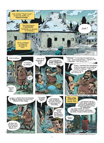 Page 7 Les méchants de l'histoire tome 1 - Dracula