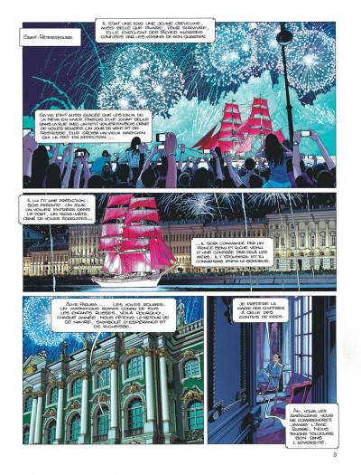 Page 2 Largo Winch tome 21 - l'étoile du matin