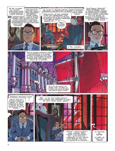 Page 4 Largo Winch tome 21 - l'étoile du matin