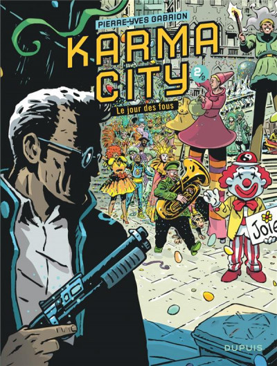 Couverture Karma city tome 2