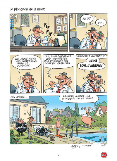 Page 3 L'agent 212 tome 30