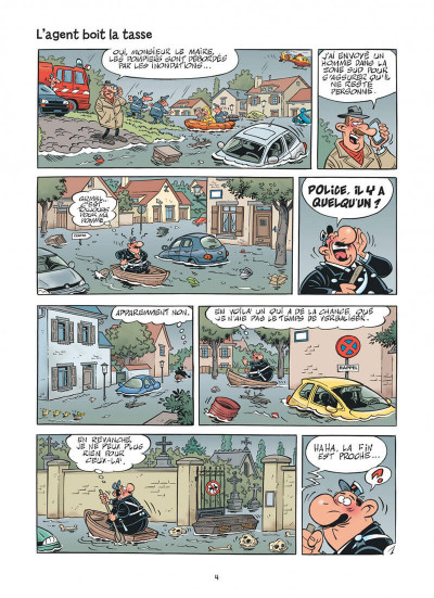 Page 4 L'agent 212 tome 30