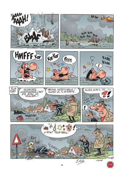 Page 8 L'agent 212 tome 30