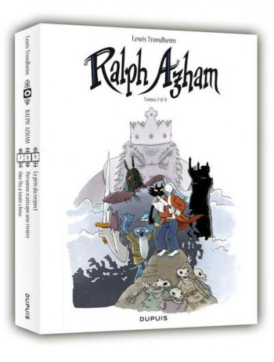 Couverture Ralph Azham - fourreau tome 7 à tome 9