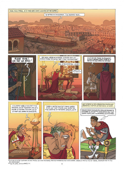 Page 9 Les méchants de l'histoire tome 2 - Caligula
