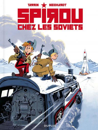 Couverture Spirou chez les Soviets + ex-libris offert