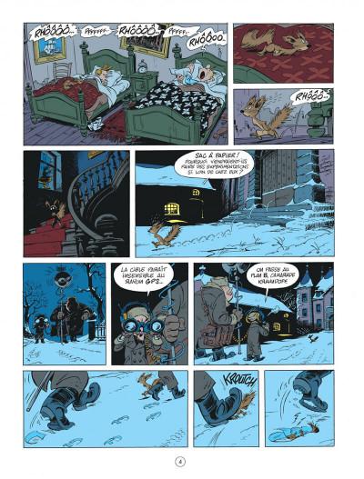 Page 4 Spirou chez les Soviets + ex-libris offert