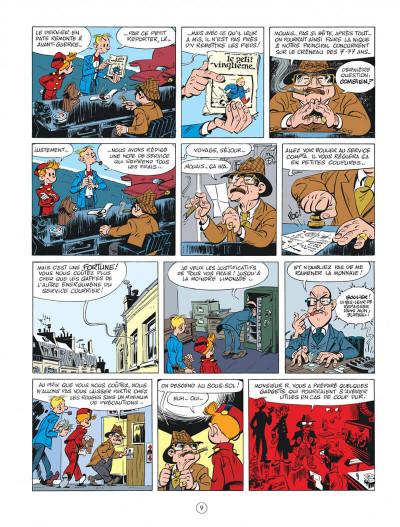 Page 9 Spirou chez les Soviets + ex-libris offert