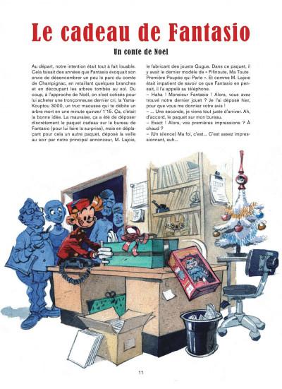 Page 1 Les folles aventures de Spirou et Fantasio