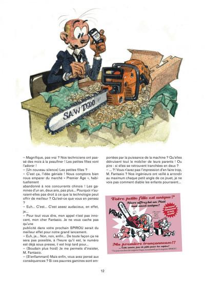 Page 2 Les folles aventures de Spirou et Fantasio