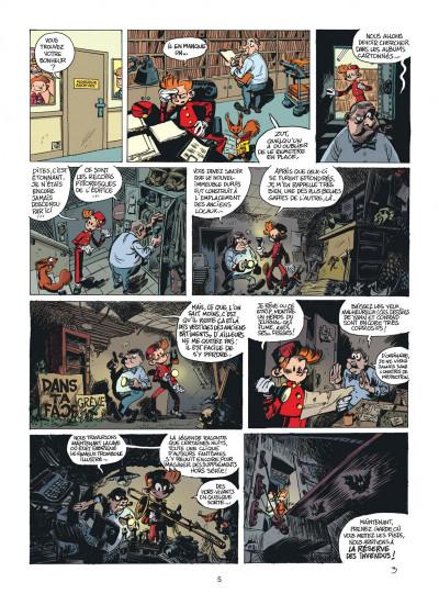 Page 4 Les folles aventures de Spirou et Fantasio