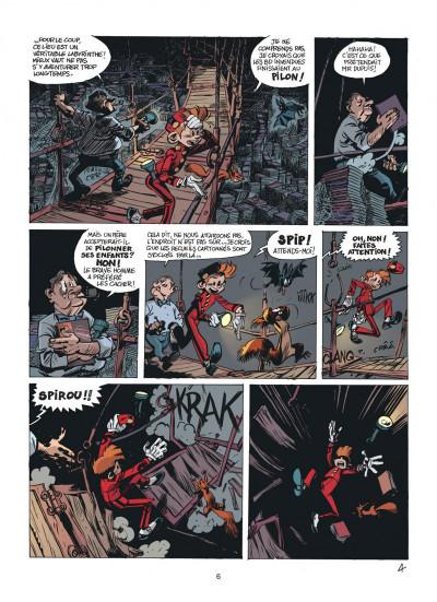 Page 6 Les folles aventures de Spirou et Fantasio