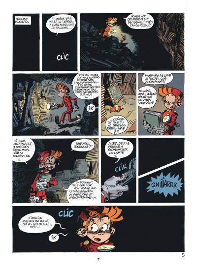 Page 7 Les folles aventures de Spirou et Fantasio