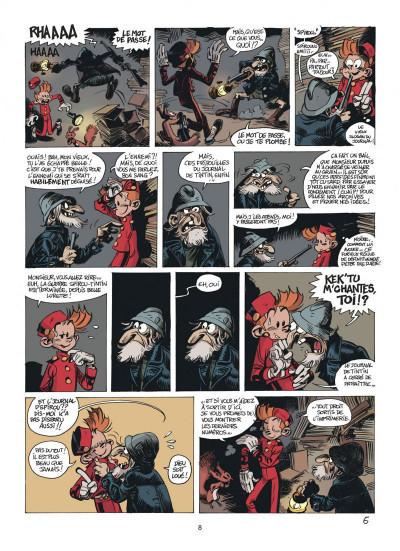 Page 8 Les folles aventures de Spirou et Fantasio