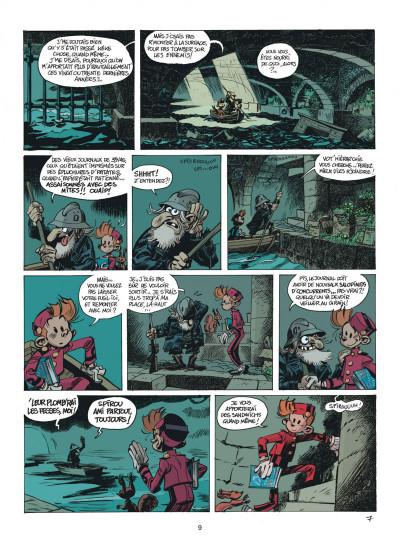 Page 9 Les folles aventures de Spirou et Fantasio