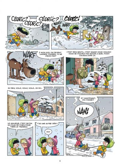 Page 5 Cédric tome 31
