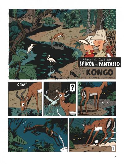 Page 2 Spirou et Fantasio vu par... tome 11 - Spirou au Kongo Belche (version bruxelloise)