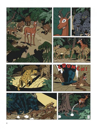 Page 3 Spirou et Fantasio vu par... tome 11 - Spirou au Kongo Belche (version bruxelloise)