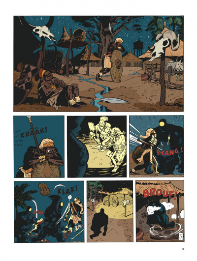 Page 4 Spirou et Fantasio vu par... tome 11 - Spirou au Kongo Belche (version bruxelloise)