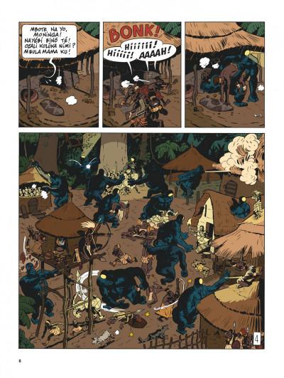 Page 5 Spirou et Fantasio vu par... tome 11 - Spirou au Kongo Belche (version bruxelloise)
