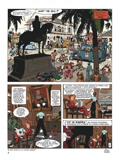 Page 8 Spirou et Fantasio vu par... tome 11 - Spirou au Kongo Belche (version bruxelloise)