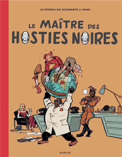 Couverture Spirou et Fantasio vu par... - édition de luxe tome 11 - Le maître des hosties noires