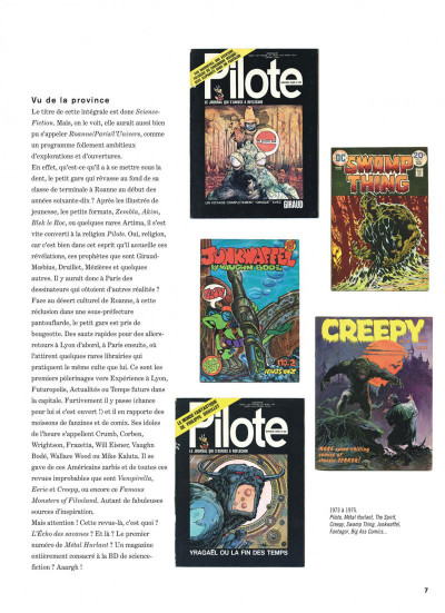 Page 7 Science-fiction intégrale