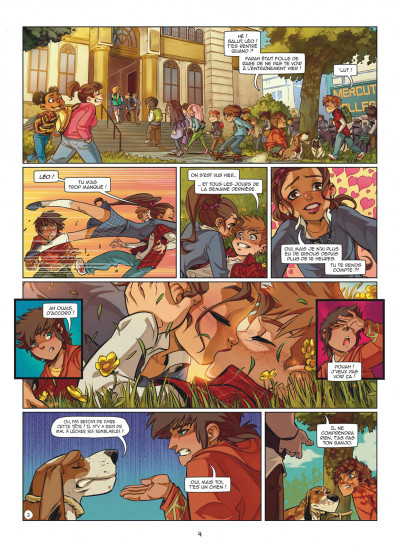 Page 4 Magic 7 tome 5