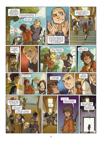 Page 5 Magic 7 tome 5