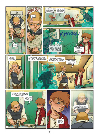 Page 6 Magic 7 tome 5