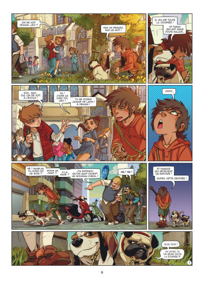 Page 9 Magic 7 tome 5