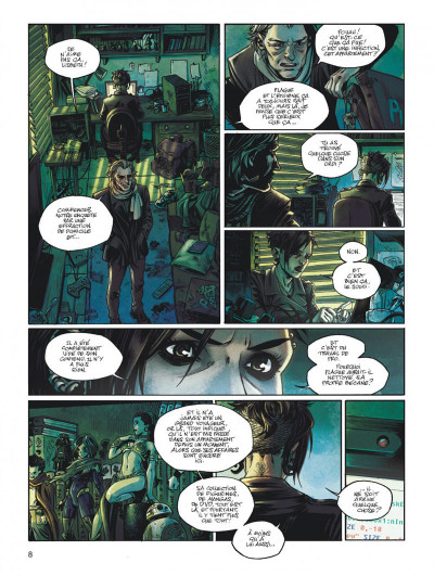 Page 8 Millenium saga tome 2