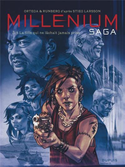 Couverture Millénium saga tome 3