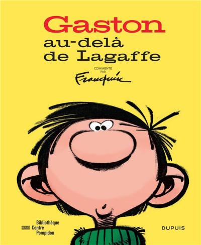 Couverture Gaston - Au-delà de Lagaffe (catalogue de l'expo à la BPI)