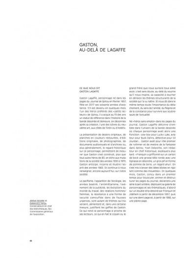 Page 6 Gaston - Au-delà de Lagaffe (catalogue de l'expo à la BPI)