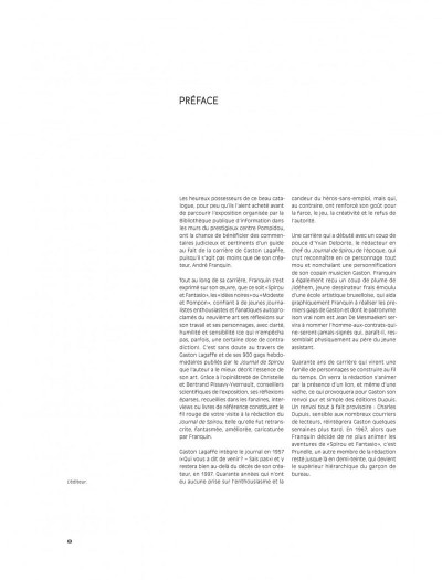 Page 8 Gaston - Au-delà de Lagaffe (catalogue de l'expo à la BPI)