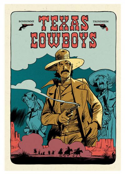 Couverture Texas Cowboys - coffret