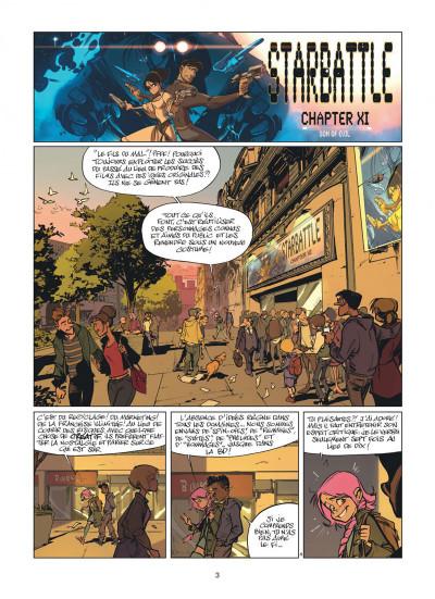 Page 3 Zorglub tome 1 - La fille du Z + ex-libris offert