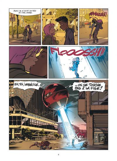 Page 4 Zorglub tome 1 - La fille du Z + ex-libris offert