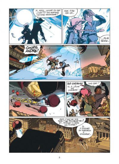 Page 5 Zorglub tome 1 - La fille du Z + ex-libris offert