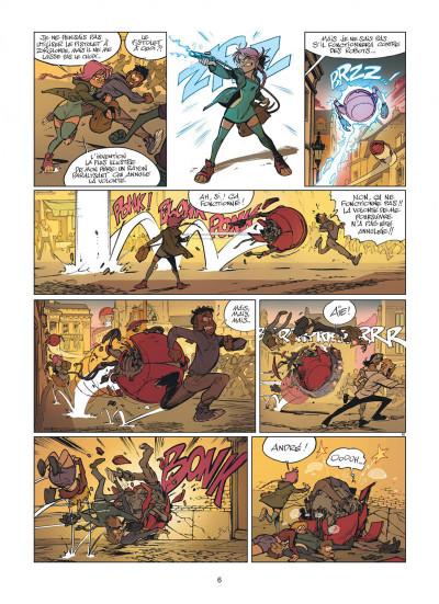 Page 6 Zorglub tome 1 - La fille du Z + ex-libris offert
