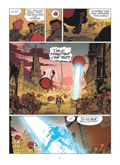 Page 7 Zorglub tome 1 - La fille du Z + ex-libris offert
