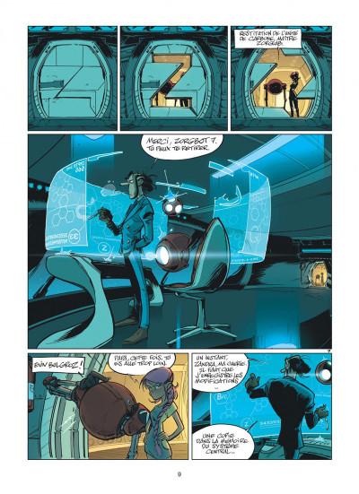 Page 9 Zorglub tome 1 - La fille du Z + ex-libris offert