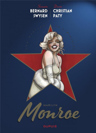 Couverture Les étoiles de l'histoire tome 2 - Marilyn Monroe